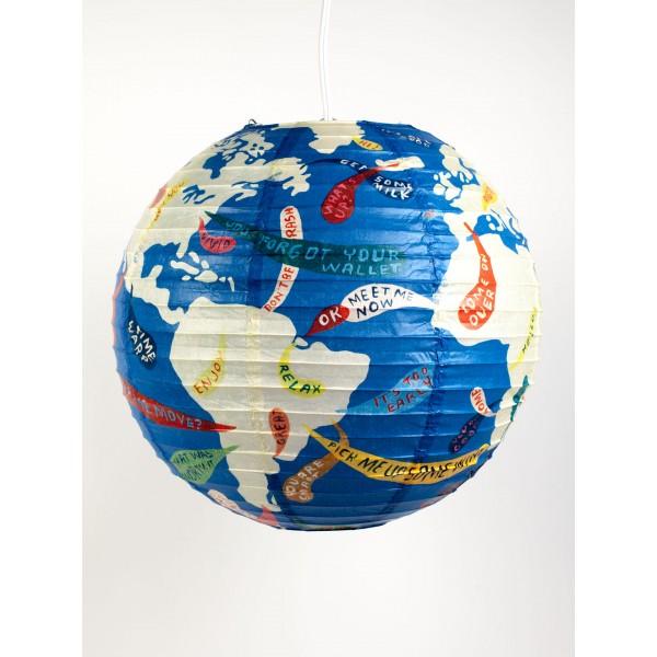 Riisipaperivarjostin, Down To Earth