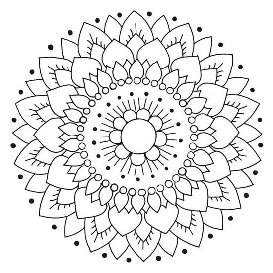 Kakeldekor, Lotus Vit/Svart 6 st