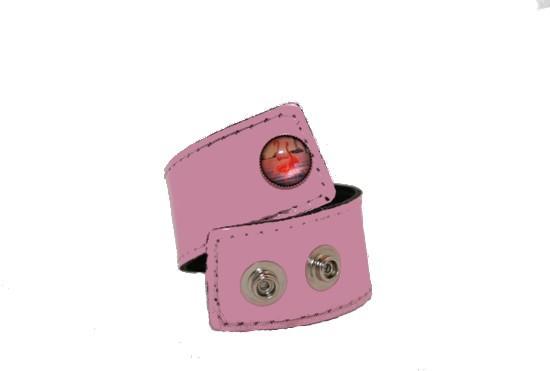 Armband, Rosa flamingo