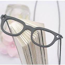 Halsband, Glasögon svart