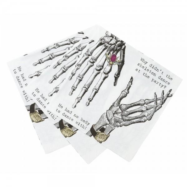 Servetit (20 kpl), Skeleton Crew