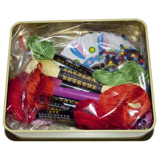 Cotton Candy, Friendship Bracelet Kit