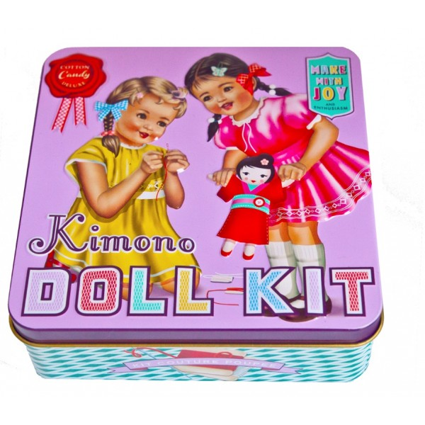Cotton Candy, Kimono Doll Kit