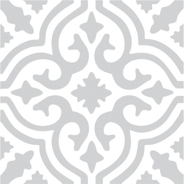 Kakeldekor, Marrakech grey 6 st