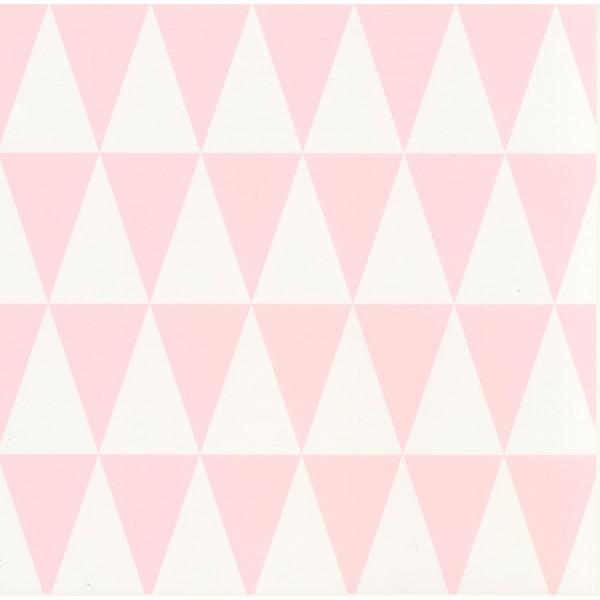 Kakeldekor, Harlekin rosa 6 kpl