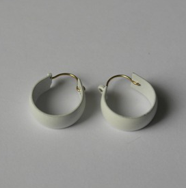 Korvakorut Rings white