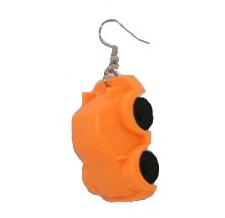 Örhänge Bil Ben, orange