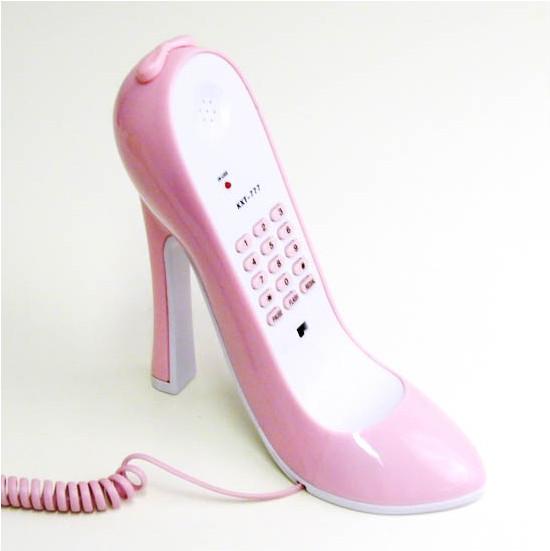 Kenkäpuhelin, pinkki