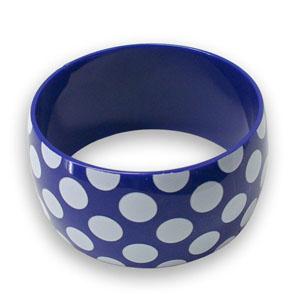 Armband, Polka Dot Blue