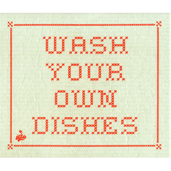 Disktrasa, Wash your own dishes