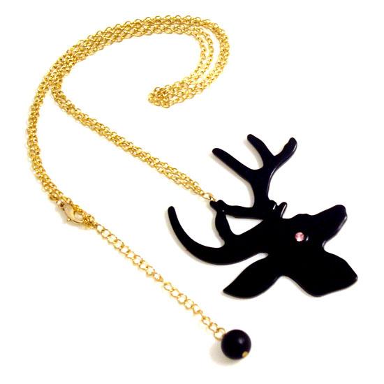 Halsband, Ren svart