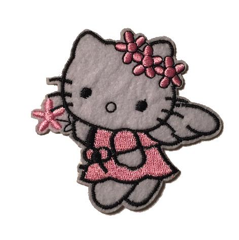 Kangasmerkki Hello Kitty, flower angel