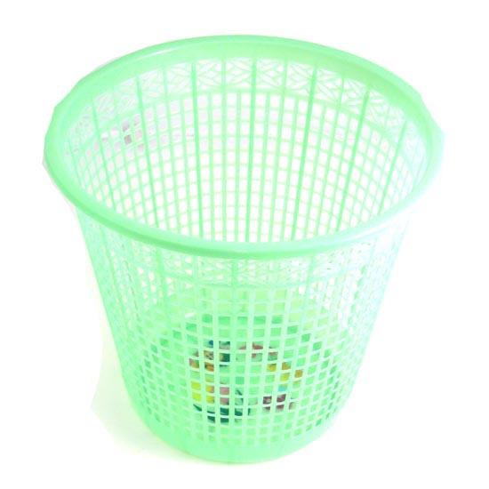 Roskakori Muovinen, vihreä