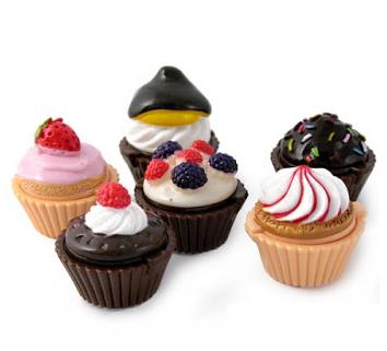 Läppbalsam Cupcake, bär
