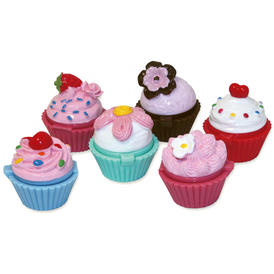 Läppbalsam Cupcake, Fancy