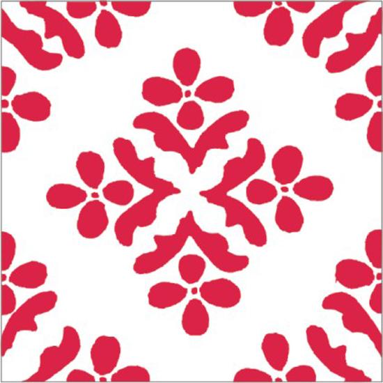 Kaakelitarra, Naxos Punainen 6 kpl
