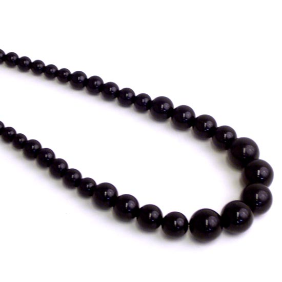 Halsband, Audrey svart lång
