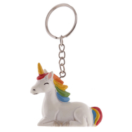 Nyckelring Unicorn, Rainbow