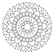 Kaakelitarra, Lotus Valko/Musta 6 kpl