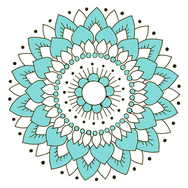 Kaakelitarra, Lotus Turkoosi (6kpl)