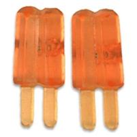 Korvakorut jäätelöpuikot mini, appelsiini