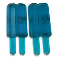 Örhängen glasspinnar mini, blåbär