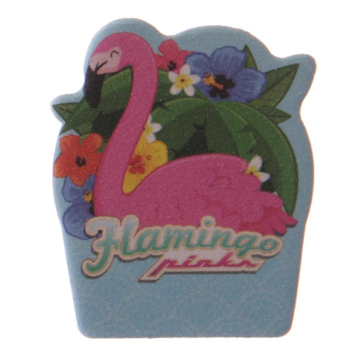 Nagelfil, flamingo flowers