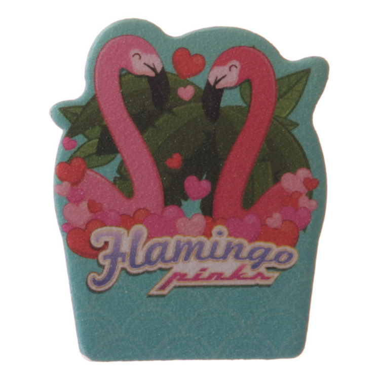 Nagelfil, flamingo hearts