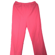 Housut, Mari knit flares, bright pink