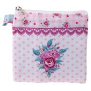 Plånbok, Lapptäcke rosa