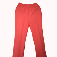 Housut, Mari knit flares, bright ornage