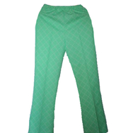 Housut, Mari knit flares, green