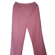 Housut, Mari knit flares, light pink
