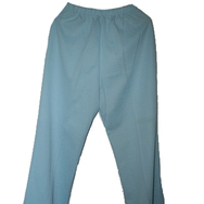 Housut, Mari knit flares, light blue