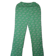 Housut, Mari knit flares, butterfly green