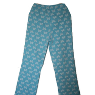 Housut, Mari knit flares, butterfly blue