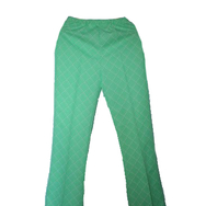 Housut, Mari knit flares, retro green
