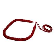 Pää-/hiuspanta, punainen ohut