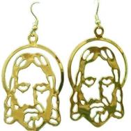 Örhängen, Jesus