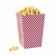 Popcorn-/herkkupikari (6 kpl), Red & White