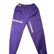 Housut, Wonderful Vintage, Violet w zippers