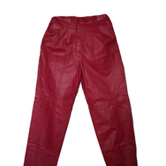 Housut, Wonderful Vintage, Red leather
