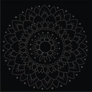 Kaakelitarra, Lotus Musta/musta (6kpl)