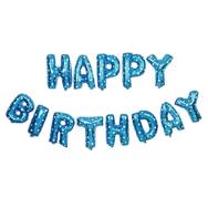 Foliopallot Syntymäpäivä, sininen