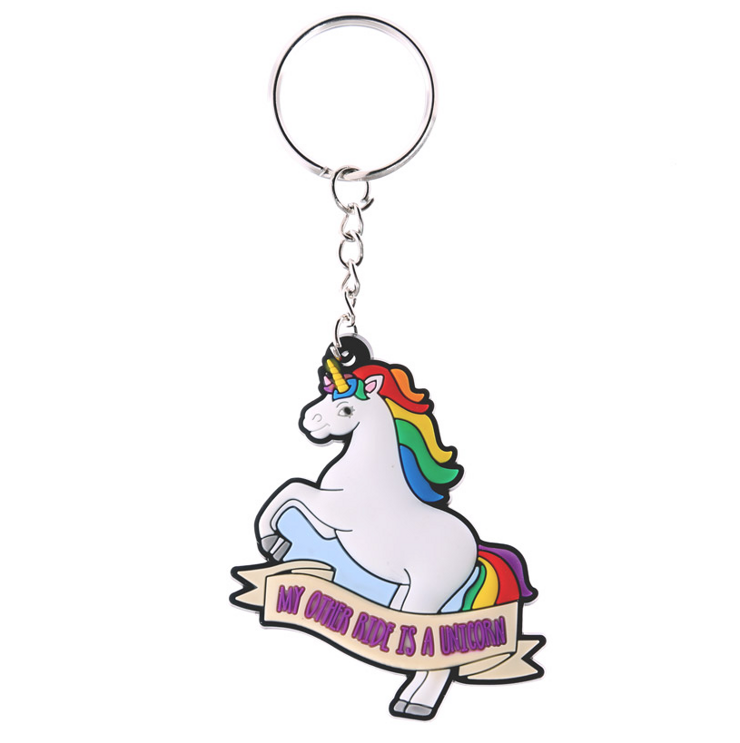 Nyckelring Unicorn, Ride