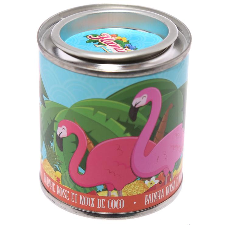 Soijaljus Flamingo, kokos & papaya