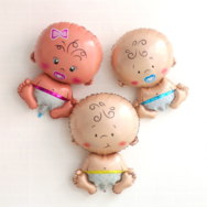 Folieballong, Girl/Boy/Baby