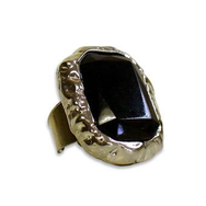 Ring, Deluxe Black Rectangle