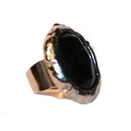 Ring, Deluxe Black Oval