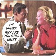 Glasunderlag (1 st), I´m drunk